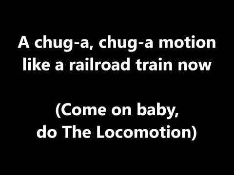 Lyrics~The Locomotion-Little Eva
