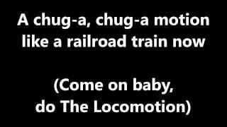 Lyrics~The Locomotion-Little Eva