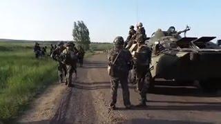 Ukraine War - Ukrainian army arrives to front line near Sloviansk Ukraine