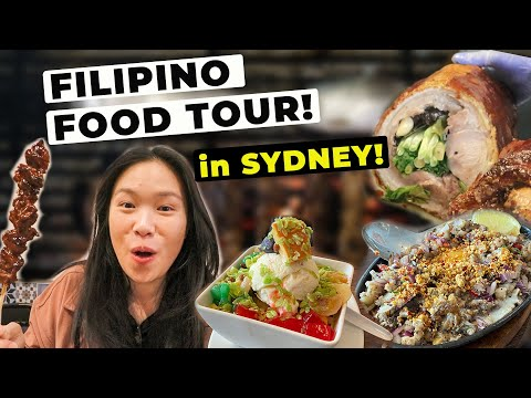 MASSIVE FILIPINO FOOD TOUR in SYDNEY AUSTRALIA! (Must Visit Sydney Restaurants) 悉尼菲律宾美食