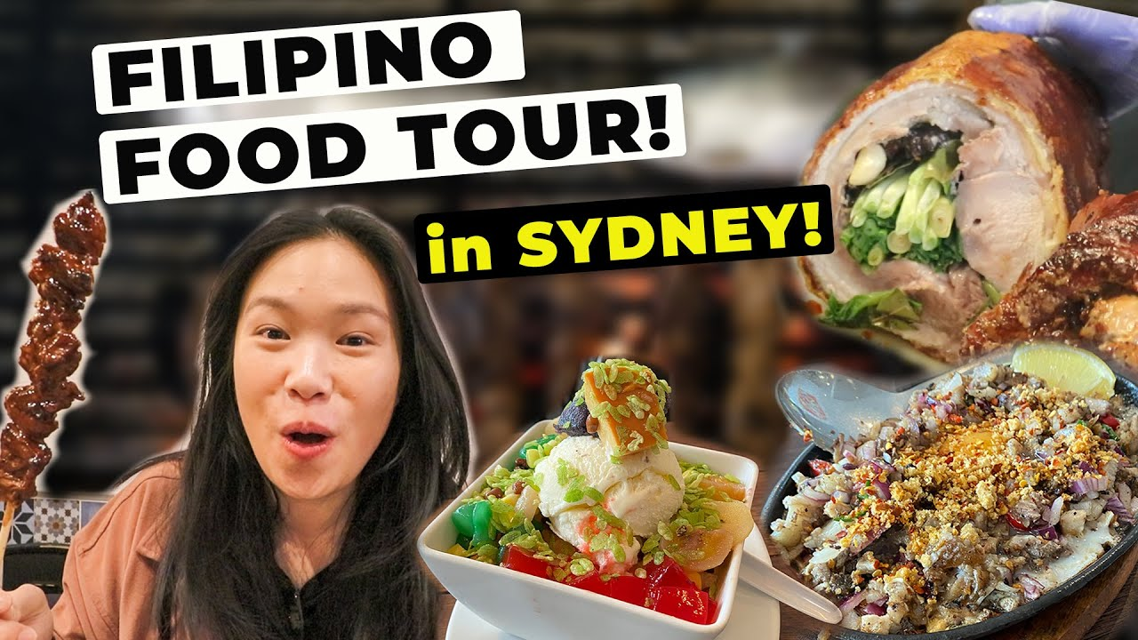 MASSIVE FILIPINO FOOD TOUR in SYDNEY AUSTRALIA! (Must Visit Sydney Restaurants) 悉尼菲律宾美食