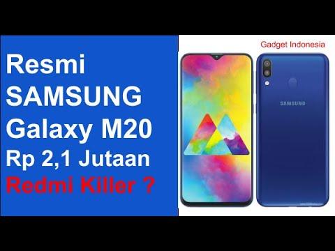 Rp 2,1 Jutaan   Samsung Galaxy M20 Indonesia , Saingan Redmi Note 7 ?