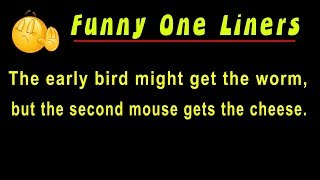 Funny One Liners | Top One Liner Jokes