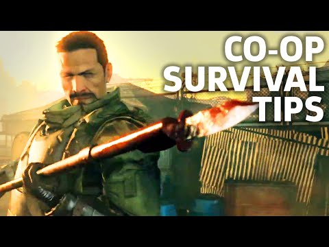 How Do You Even Play Metal Gear Survive Co-Op