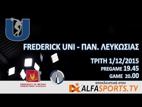 UNISPORTS VOLLEYBALL MEN | FREDERICK v NICOSIA
