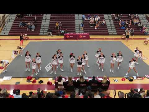 Cave Spring High School Varsity at Mountain View Cheer Competition 2019