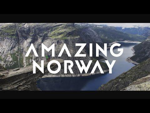 Amazing Norway trip 2016 (drone)