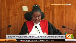 Election of Marakwet East MP upheld