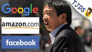 Breaking Up Google & Amazon Is Possible! w/Andrew Yang