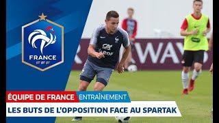 Équipe de France : les buts de l'opposition face aux U19 du Spartak Moscou (11-0) I FFF 2018