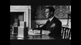 King George VI - Speech on Victory in Europe Day, 8 May 1945
