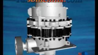 Пружинная конусная дробилка серии CS(http:ru.sbmchina.com/ Пружинная конусная дробилка является первой конусной дробилкой во всём мире, пользуется больш..., 2010-04-10T08:25:28.000Z)