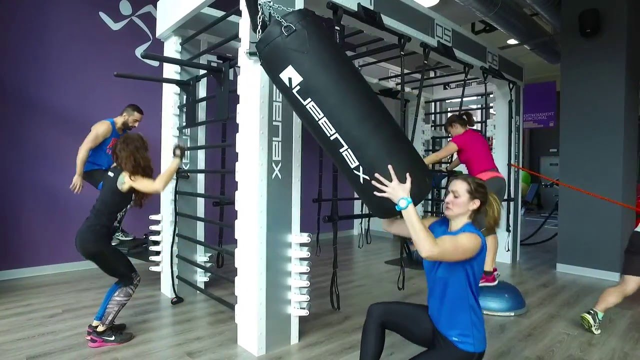 Training Course Queenax Anytime Fitness Terrassa Youtube
