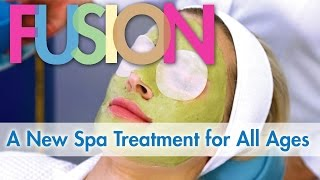 FUSION - A New Natural Spa Treatment for All Ages | Organic Skin Care | Natural Skin Care