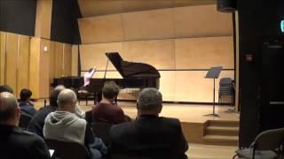 Or Yissachar - Fughetta Burlesque con Variazioni op.39