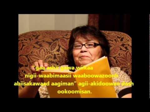 ojibwe story waaboozoonh is his name