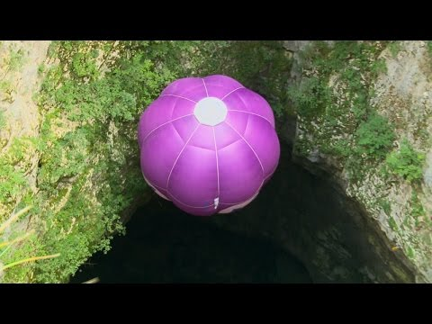 Hot Air Ballooning Underground