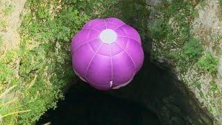 Hot Air Ballooning Underground