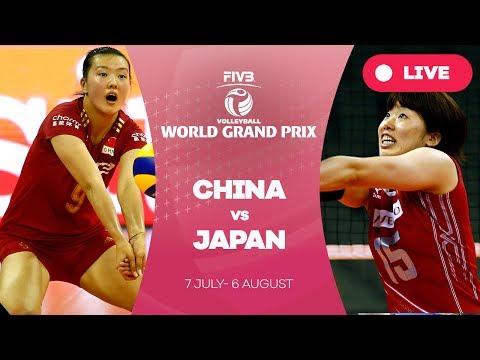 China v Japan  - Group 1: 2017 FIVB Volleyball World Grand Prix
