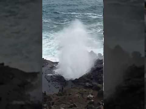 Spouting Horn Hawaii