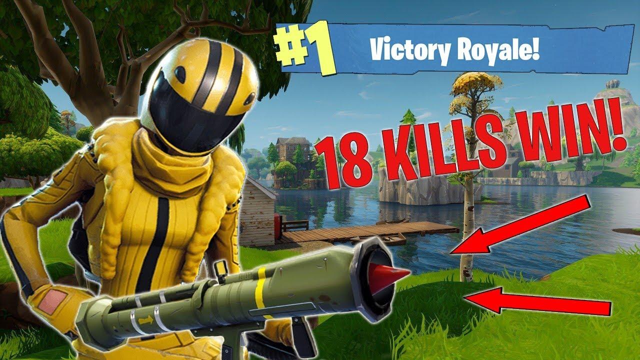 Kill Solo Win Avec Le Missile Guide  F F A  Nouvelle Arme Fortnite Battle Royale Gameplay
