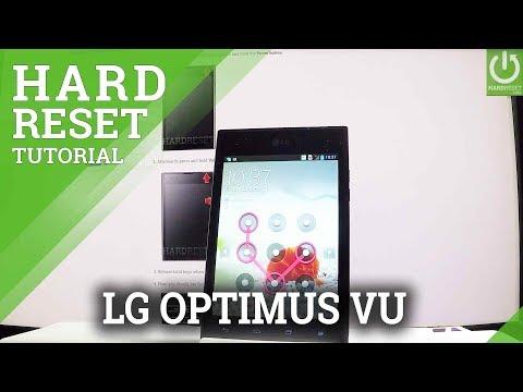 Hard Reset LG Optimus Vu - Bypass Screen Lock / Master Reset