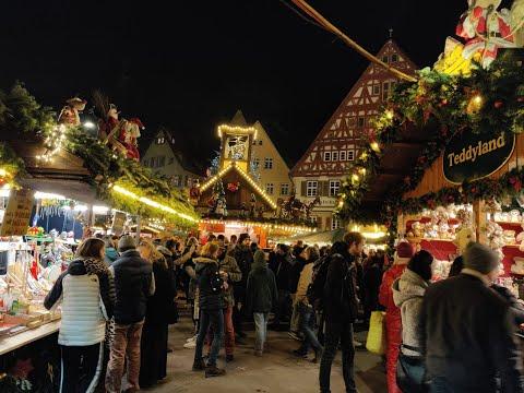 CHRISTMASMARKET ESSLINGEN 2019 | Germany