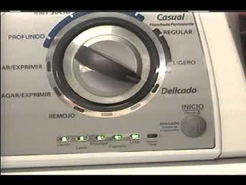Programacion Lavadora Whirlpool Youtube