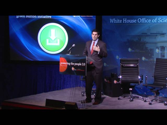 Powering the People 2.0 - Nick Sinai on the White House Green Button Initiative Travel Video