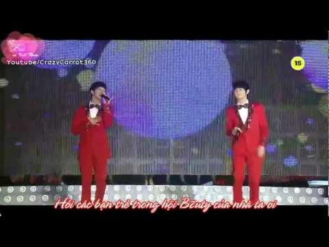 [vietsub parody by FC Beast in vietnam] B2ST/BEAST - Yoseob & Kikwang Singing Together