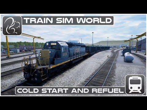 Train Sim World - Cold Start & Refuel [CSX Heavy Haul]