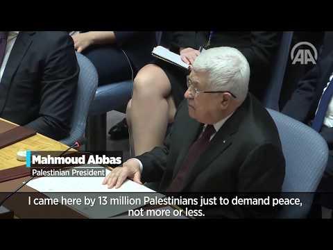 Palestine's Abbas rebuffs Trump plan at UN meeting - Feb. 11, 2020