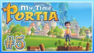 My Time at Portia - #5 - A Bridge to... TROLLS?! (Alpha Gameplay) (END)