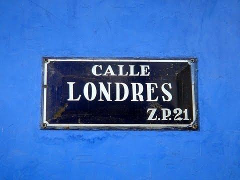 Vita in Mexico: la Casa Azul de Calle Londres