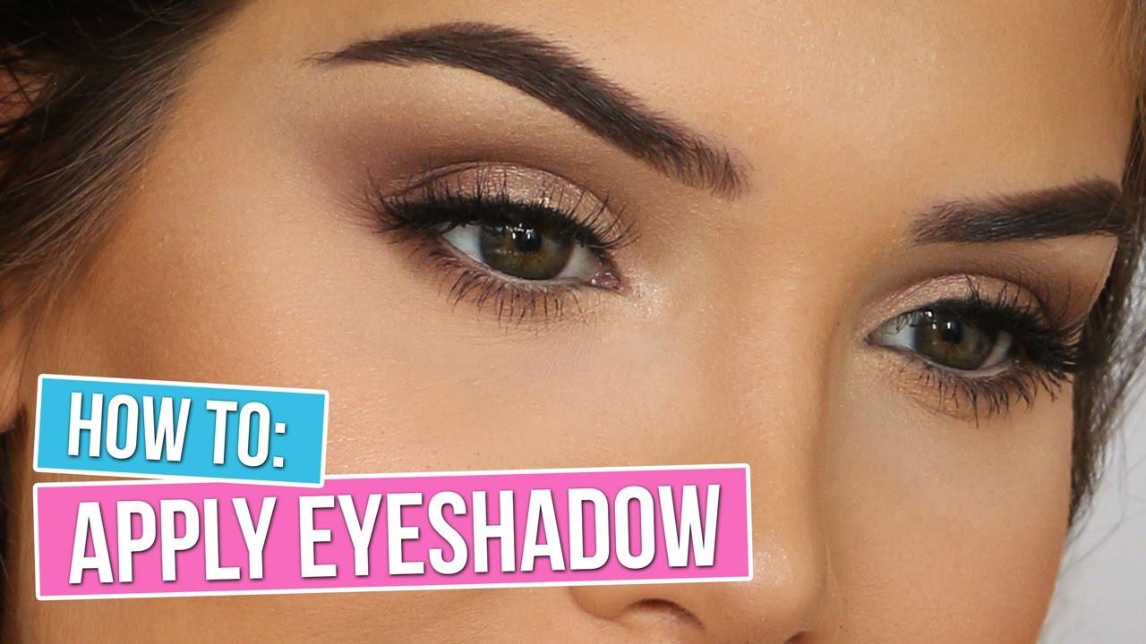 How To Apply Eyeshadow: The Smokey Eye  Katerina Williams