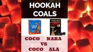 COMPARING HOOKAH COALS   COCO NARA   COCO ALA   Hookah Review