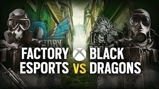 [ES] FACTORY ESPORTS vs. BLACK DRAGONS | Play Day #6 | EliteSix S03 (XBOX)