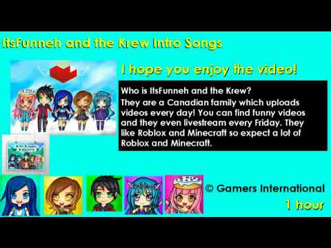 (1 HOUR) 🎶ItsFunneh and the Krew Intro Songs🎶