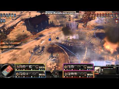 2v2 Company of Heroes 2 American strategy