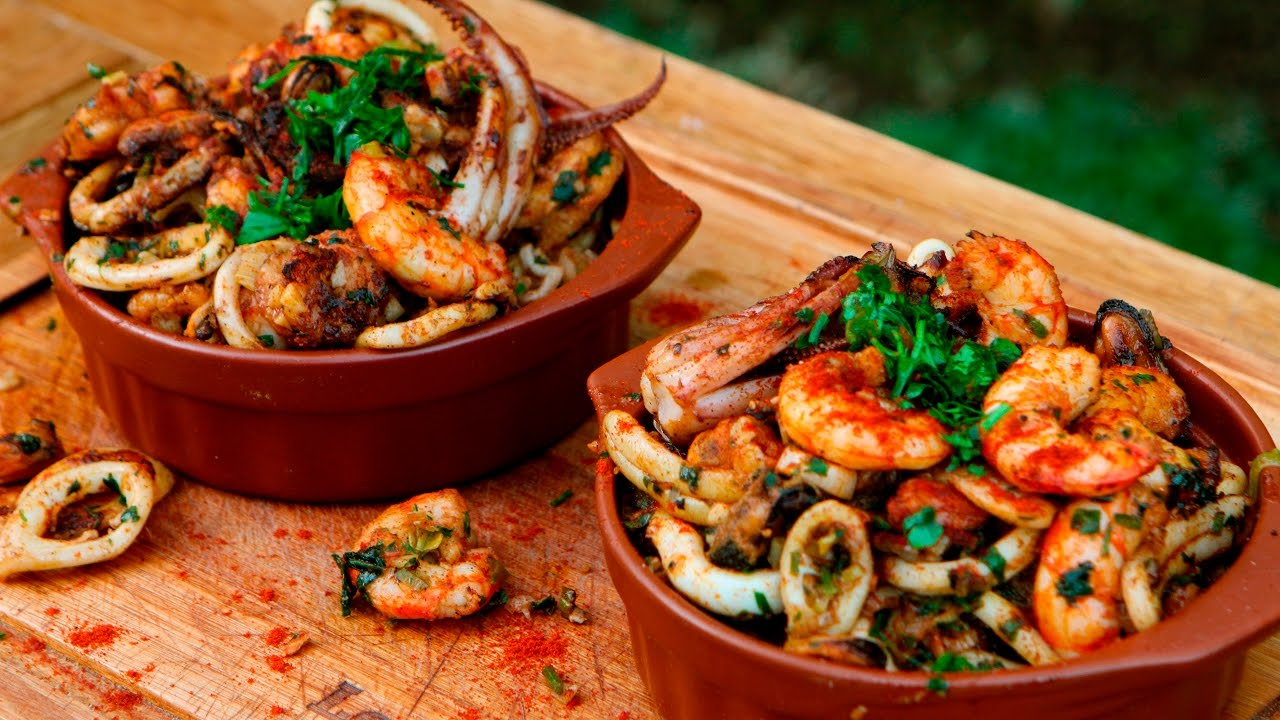 Fiesta de mariscos para semana santa receta de locos x for Preparacion de jardines