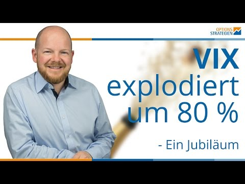 VIX explodiert um 80% - Ein Jubiläum