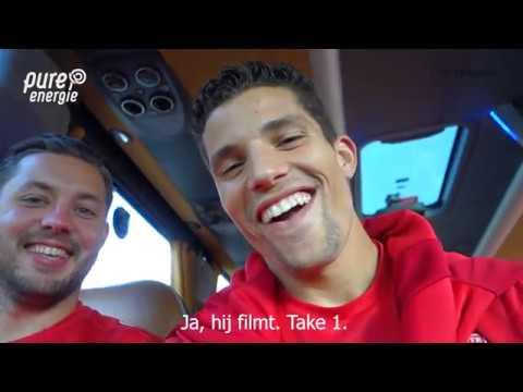 Spelers FC Twente dagje weg met hoofdsponsor Pure Energie | Vlog Rafael Ramos