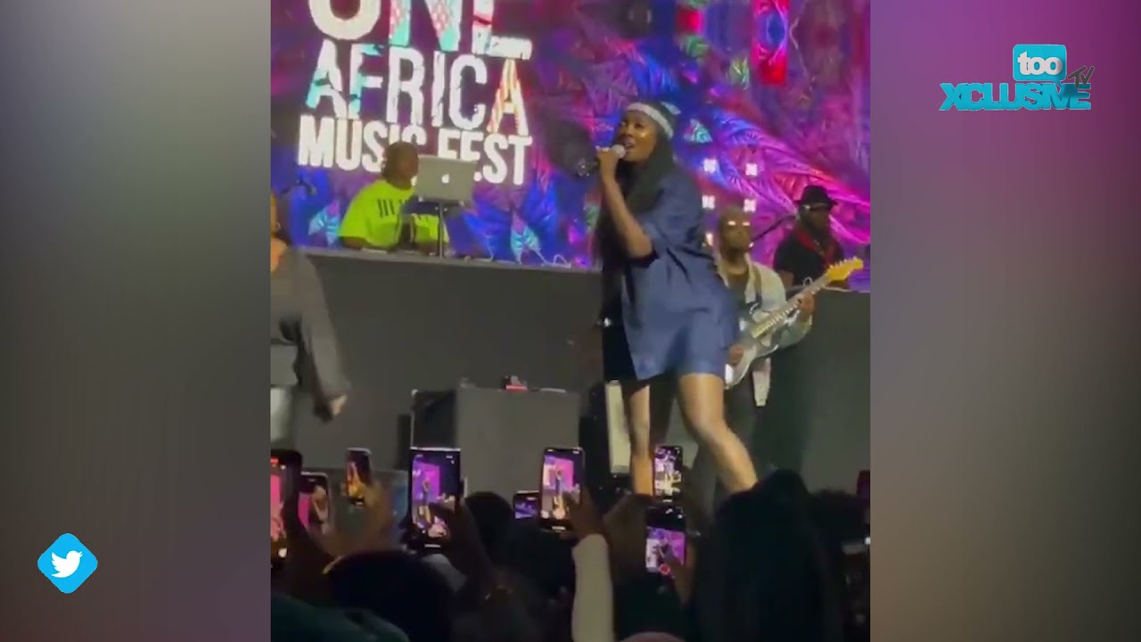 Download Tiwa Savage's Full Performance At The Interswitch One Africa Music Fest 2021 in New York city