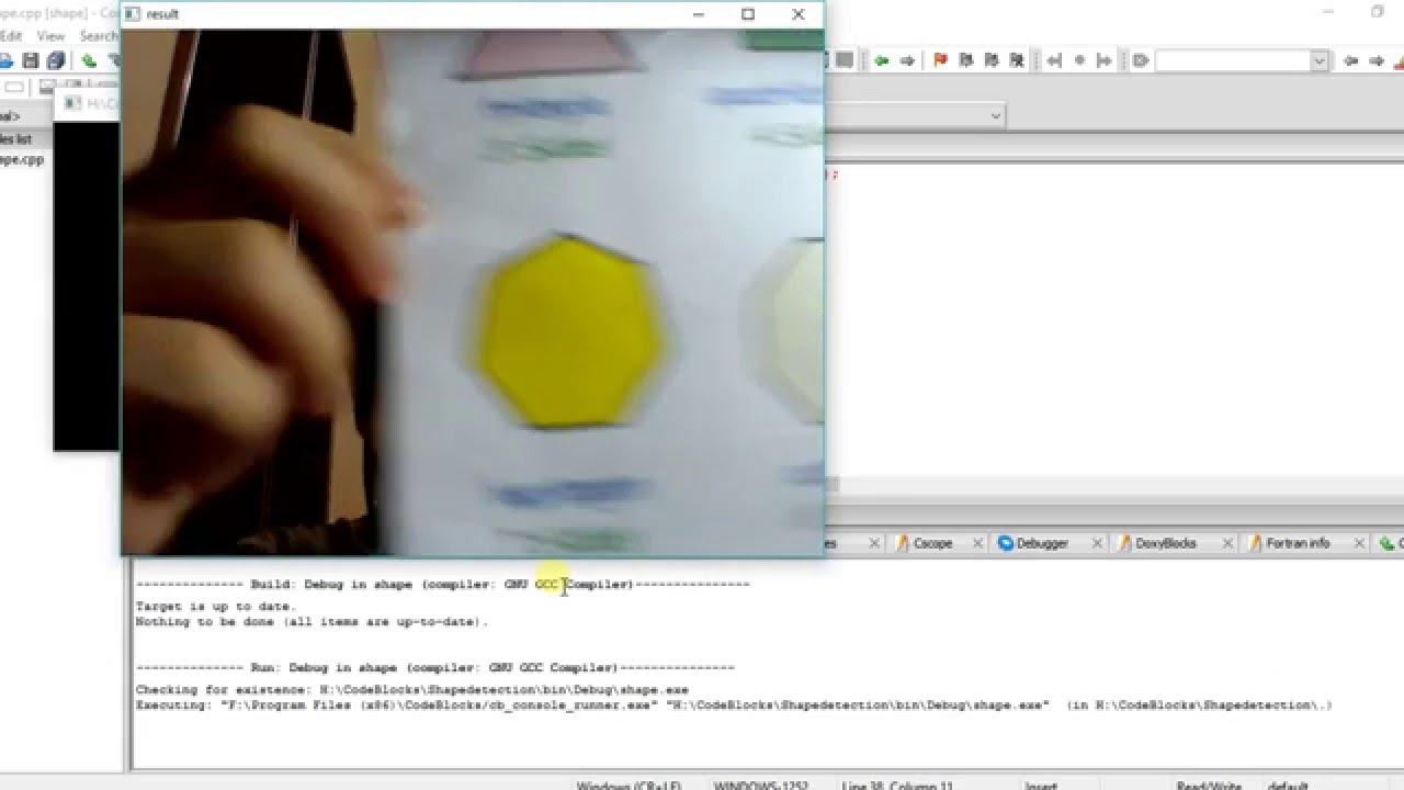 OpenCV Project - Shape Detection Using Contour Technique