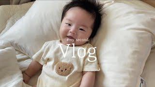 [VLOG] 두번째 육아 일상 브이로그 | 아기 동물병…