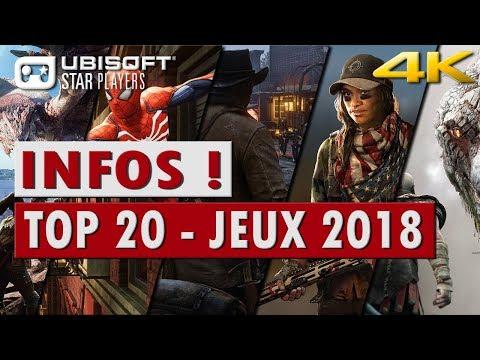 📺 TOP 20 Des Jeux Les Plus Attendus De 2018 4k - PC/PS4/Xbox