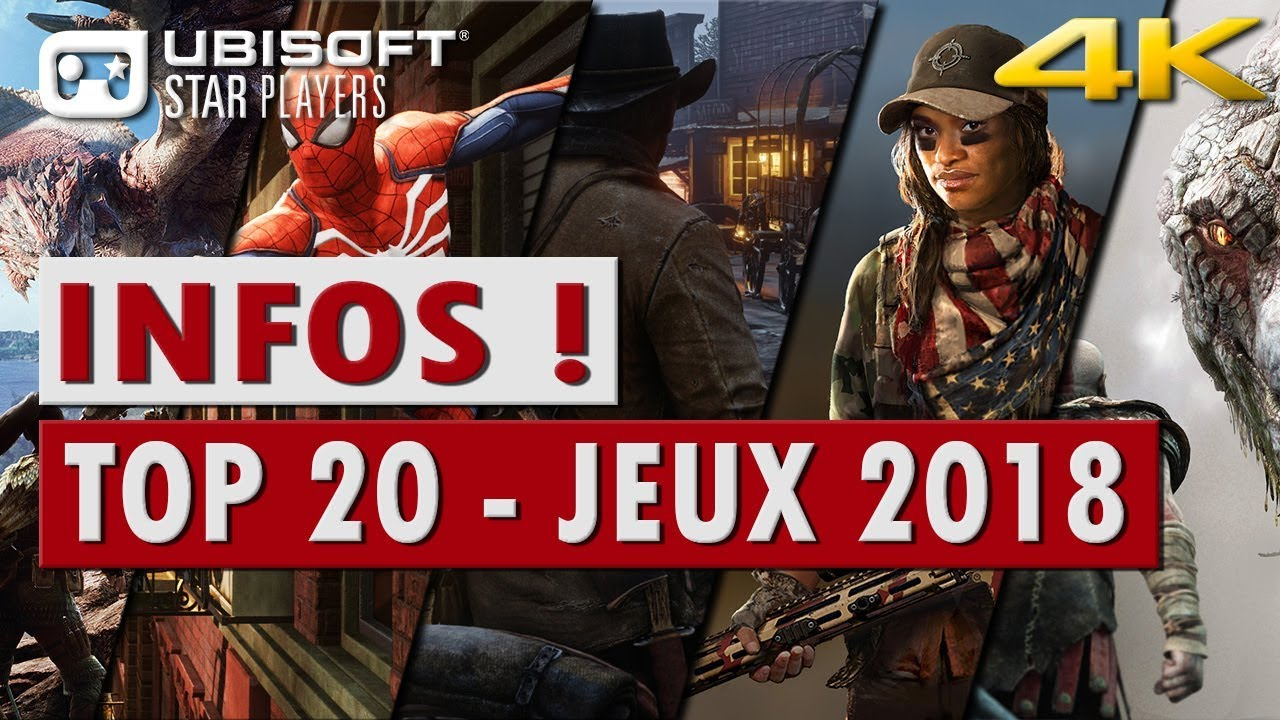 top 20 des jeux les plus attendus de 2018 4k pc ps4 xbox youtube. Black Bedroom Furniture Sets. Home Design Ideas