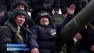 93-летний ветеран из Башкирии исполнил мечту и проехал на самом современном российском танке Т-72Б3