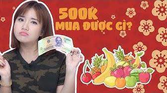 THỬ THÁCH 500K MUA ĐỒ TRƯNG NGÀY TẾT | CHIẾC HỘP PANDORA | XUÂN 2019
