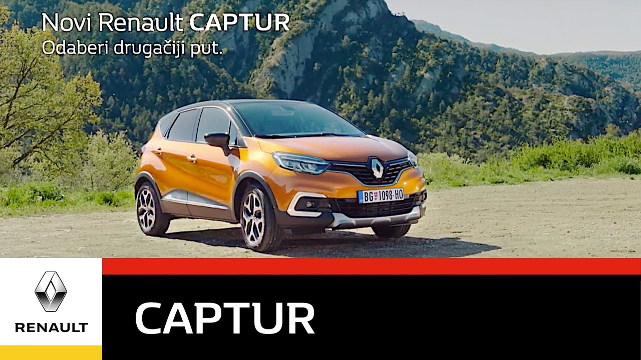 novi renault captur odaberi druga iji put promo youtube. Black Bedroom Furniture Sets. Home Design Ideas